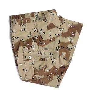 ロスコ 6ポケット カモ タクティカル BDU パンツ チョコチップ カモ メンズ/カーゴパンツ/ミリタリー|rawdrip