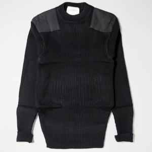 ロスコ アクリル コマンド セーター ブラック|rawdrip