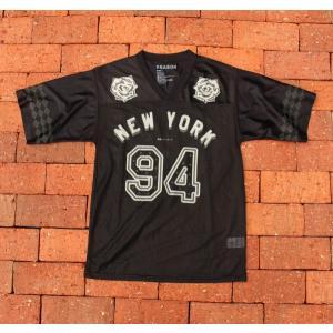 リーズン ニューヨーク メッシュ ジャージ/ブラック/メンズ|rawdrip