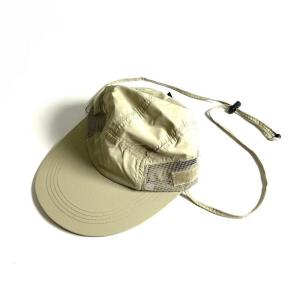 サプレックス ナイロン ネックフラップ フィッシングキャップ カーキ メンズ/帽子 rawdrip