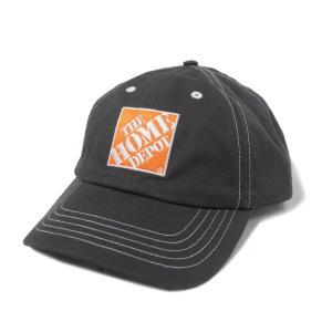 ザ ホーム デポ ブラッシュド ツイル キャップ チャコール メンズ 帽子|rawdrip