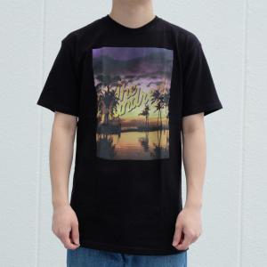 【SALE】ザ ハンドレッズ リラックス スラント Tシャツ ブラック|rawdrip