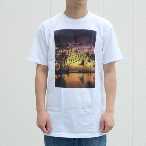 【SALE】ザ ハンドレッズ リラックス スラント Tシャツ ホワイト|rawdrip