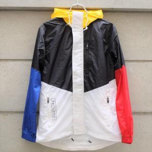 クワイエット ライフ パーク ウィンドブレーカー ジャケット ブラック ホワイト|rawdrip