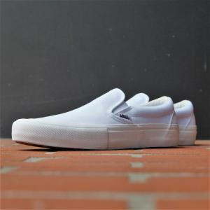 [SALE]バンズ スリップ オン プロ アンドリュー・アレン ホワイト rawdrip