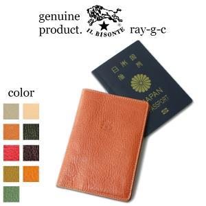 イルビゾンテ パスポートケース IL BISONTE レザーパスポートケース 5422300198 ...