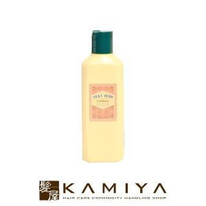 《コンディショナー》  天然植物性ハーブエキス(ワレモコウ、クララ、アロエエキス)配合で髪にうるおい...