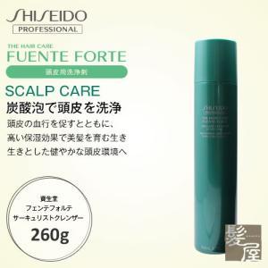 《頭皮用洗浄剤》 炭酸のトリプルアプローチとマッサージ効果で血行を促すとともに、 高い保湿効果で美髪...