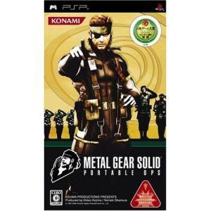 中古:PSP)メタルギアソリッド ポータブル OPS 4988602132700|raylbox