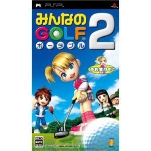 中古:PSP)みんなのゴルフポータブル2 4948872680202