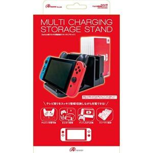 新品:Switch周辺機器)Switch用マルチ充電収納スタンド (ブラック) 4573201414373|raylbox