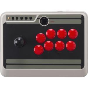新品:SwitchLite周辺機器)8BITDO NES30 Arcade Stick 454485...
