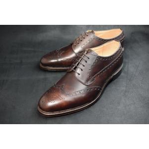 【RAYMAR】Lenton フルブローグ ダークブラウン ZONTA社製 MUSEUM使用 ハンドソーンウェルテッド 23.5cm~28.0cm レイマー DBR|raymar-shoes