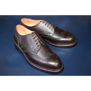 【RAYMAR】Oliver ホーウィン社製 シボ革使用 フルブローグ パティーヌダークブラウン グッドイヤーウェルト レイマー|raymar-shoes