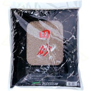 田砂とは・・・田土(たんぼの土)の粘土質を取り除き、砂粒だけを分離精製した硬質の天然砂です。 細かな...