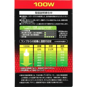 GEX ヒートグロー 100W 赤外線放熱スポ...の詳細画像1