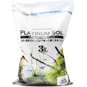 『プラチナソイル ノーマル 3リットル』は、水草・ビーシュリンプ・軟水の環境維持、流木の色素・コケの...