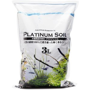 『プラチナソイル パウダー 3リットル』は、水草・ビーシュリンプ・軟水の環境維持、流木の色素・コケの...