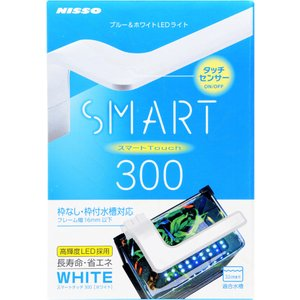ニッソー LEDライト LEDスマートタッチ300 ホワイト 【在庫有り】|rayonvertaqua