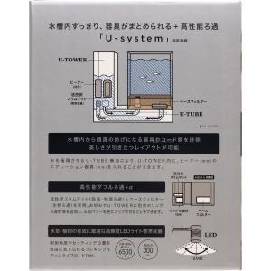 GEX オールインワン水槽セット AQUA-U アクアユー 海水・淡水両用 _【在庫有り】-_「1点まで」(新商品)「同梱不可」|rayonvertaqua|02