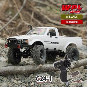 WPL JAPAN C24-1 ラジコンカー RCカー 1/16 スケール RTR フルセット プロポセット|raywood