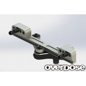 【入荷前予約】OVER DOSE OD2397 アルミスライドラックステアリングセット(For GALM/ ブラック)|razikonwebshop