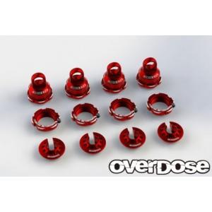 【入荷前予約】OVER DOSE OD2499 ハイグレードショックカラーチェンジセット (For HG ショック Spec.2/ レッド )|razikonwebshop