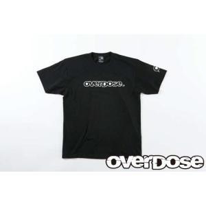 【入荷前予約】OVER DOSE ODW065 OVERDOSE Tシャツ カラー/ブラック サイズ/L|razikonwebshop