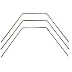 【ネコポス可】SMJ 3128 シルバーラインスタビライザー リア1.3mm(シルバー/1pc)|razikonwebshop