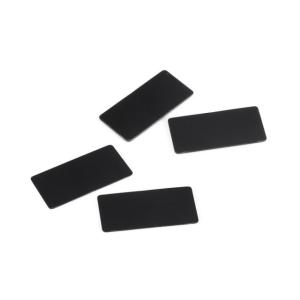 【ネコポス可】SMJ1141 1/10ツーリングカー用リアウイング翼端板(ブラック/0.8 0.5mm/各2枚入り) razikonwebshop