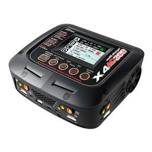 (台数限定特価)ハイテック(HiTEC)/44252/multi charger X4 AC PLUS 300(マルチチャージャー X4 ACプラス300)AC/DC充電器