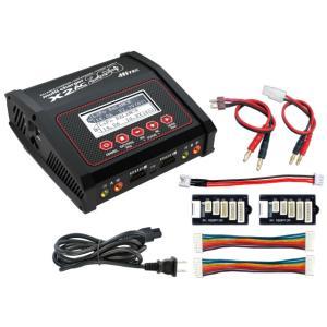 (数量限定特価)ハイテック(HiTEC)/44300/multi charger X2 AC PLUS 260(マルチチャージャーX2 ACプラス260)AC/DC充電器|ラジコン夢空間