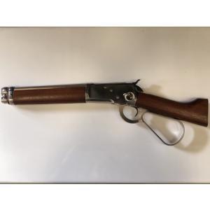 (数量限定特価)マルシン/ ウインチェスター M1892 ランダルカスタム シルバー ウォールナット仕様 18歳以上6mmBBガスガン 4920136146969
