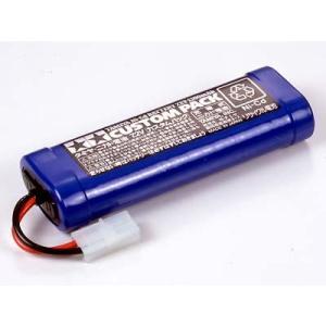 【ネコポス対応】タミヤ(TAMIYA)/55085/タミヤ ニッカドバッテリー 7.2V カスタムパック|rc-yumekukan