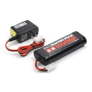 55096/タミヤ/7.2Vレーシングパック1600SPと充電器セット