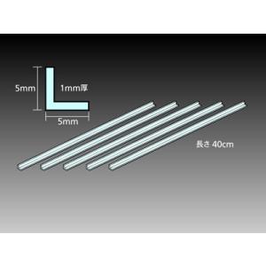タミヤ(TAMIYA)/70205/透明プラ材5mmL形棒(5本入)|rc-yumekukan