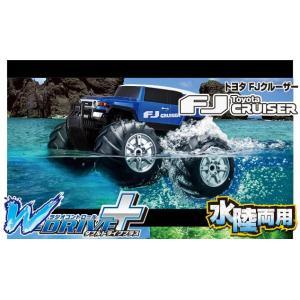 【基本送料無料】CCP/7982-MB/W-DRIVE+(ダブルドライブプラス) トヨタ FJクルーザー メタリックブルー 水陸両用ラジコン