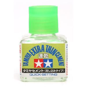 タミヤ(TAMIYA)/87182/タミヤセメント 流し込みタイプ(速乾)