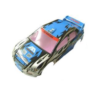 (数量限定特価)ペイント済みボディ ランエボ7タイプ 190mm ブルー