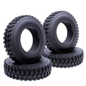 イーグル(EAGLE)/BT-T06F4/オールトレイン2 タイヤセット(4):タミヤ1/14トレーラートラック用|rc-yumekukan