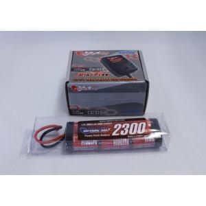 【あすつく】オリジナル/EPS-A/電動ラジコン用スタートパックA(AC急速充電器+2300バッテリー)|rc-yumekukan