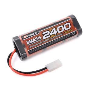 【ネコポス対応】G-FORCE(ジーフォース)/GE020/SMASH Ni-MH 7.2V 2400mAh ニッケル水素バッテリー