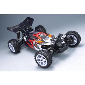 OPTION No.1/イリュージョンTYPE-7 4WD電動オフロードバギー完成フルセット(2.4GHzプロポ付)|rc-yumekukan