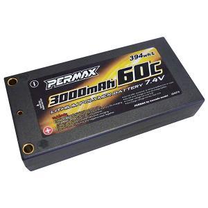 【ネコポス対応】カワダ(KAWADA)/LBA074/1Sサイズリポ7.4V 3000-60C バッテリー
