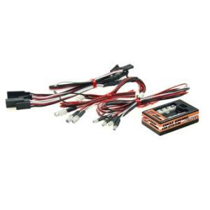 【ネコポス対応】EAGLE(イーグル)/LED-06/イーク゛ル・ト゛リフトLEDライトシステム(フラッシュ回路付):1/10カー用