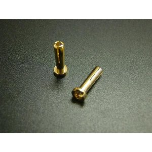 【あすつく】【ネコポス対応】OPTION No.1(オプションNo.1)/NO-CN11/ローハイト・ヨーロピアンプラグ(4mm/オス2コ入)|rc-yumekukan