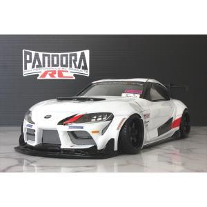 パンドラRC(Pandora RC)/PAB-2202/Toyota GR Supra クリアボディセット(未塗装) ラジコン夢空間