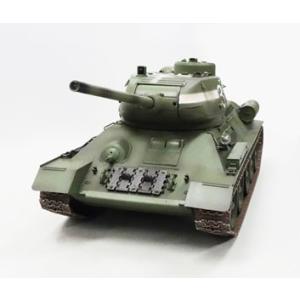 童友社(DOYUSHA)/T3485-24/ 1/16 ソビエト中戦車 T34/85 2.4GHzプロポ付 赤外線バトルシステム搭載RC  rc-yumekukan