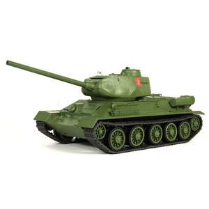 (台数限定50%オフ)ハイテック/WT-372002C/プラウダ高校 T - 34/85(グリーン) 1/24 2.4GHz バトルタンクシリーズ