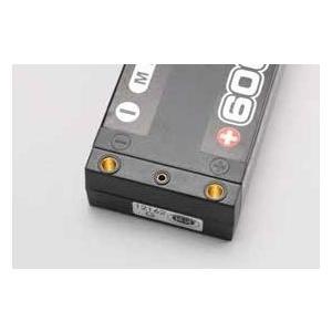 【ネコポス対応】YOKOMO(ヨコモ)/YB-V260BL/Li-po 6000mAh/100C 7.4V マックスパワーバッテリー(低重心LCG タイプ)|ラジコン夢空間